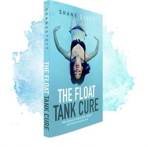The cover of the Float Tank Cure, by Shane Stott.