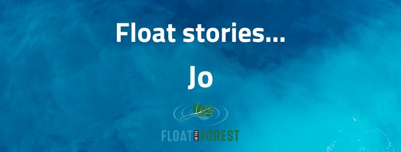 Jo's float story