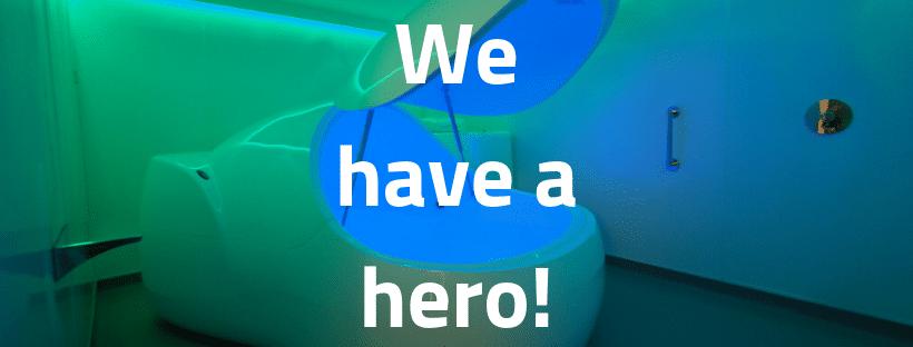 Third float hero!