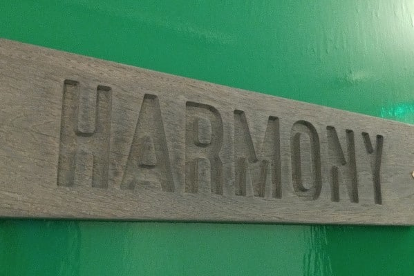 Harmony therapy room