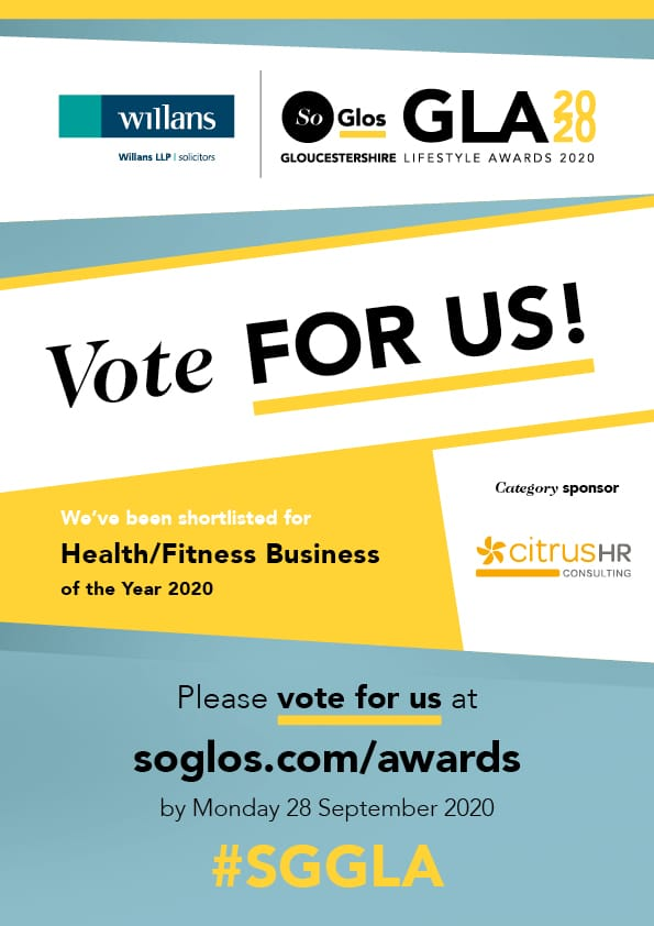 Vote for Float in the SoGlos awards