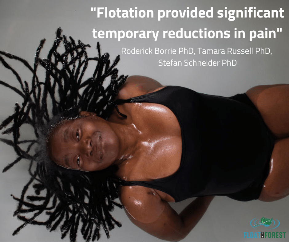 Research on floating for fibromylagia