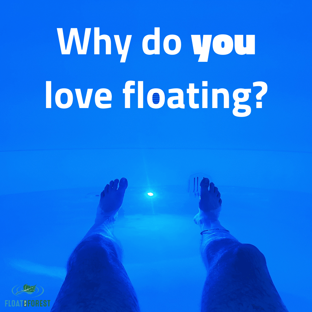 Write about why you love floating