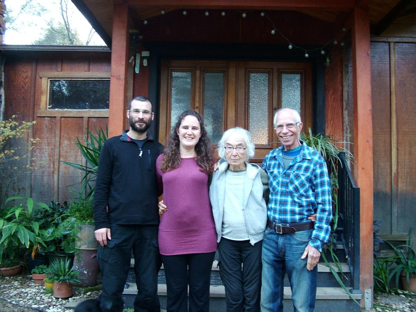 Shari and Will meet Lee and Glenn