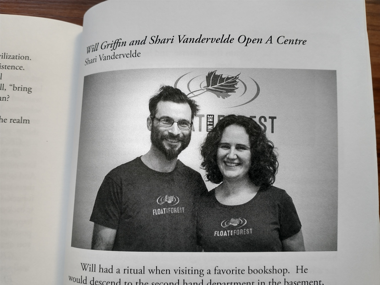 Shari and Will in Lee and Glenn's book